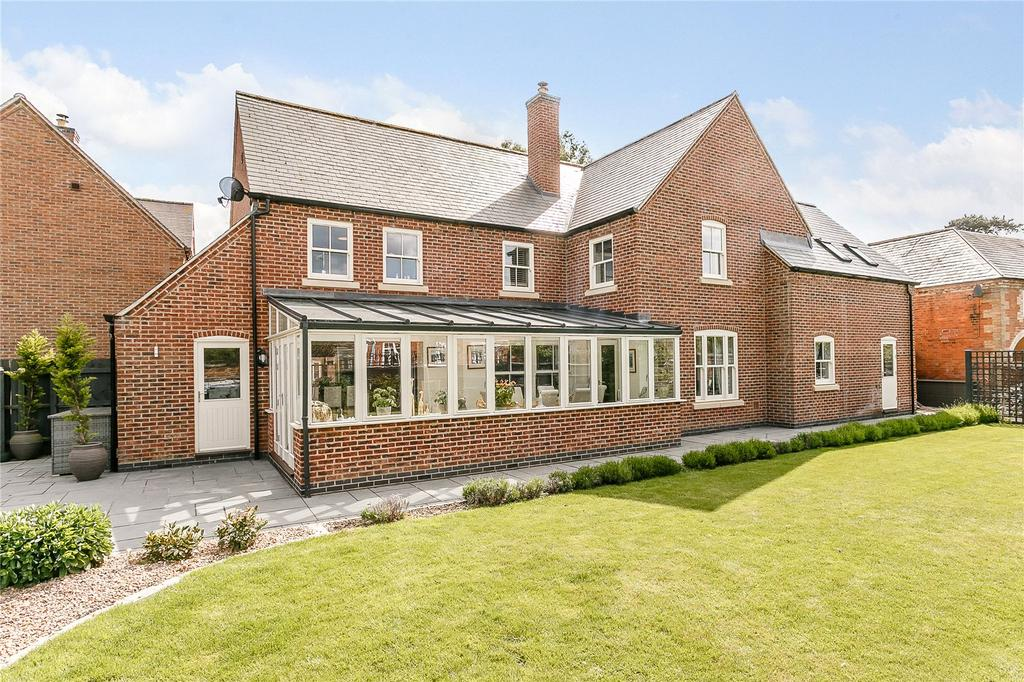 4 Bedrooms Detached House for sale in Rushes Lane, Lubenham, Market Harborough, Leicestershire