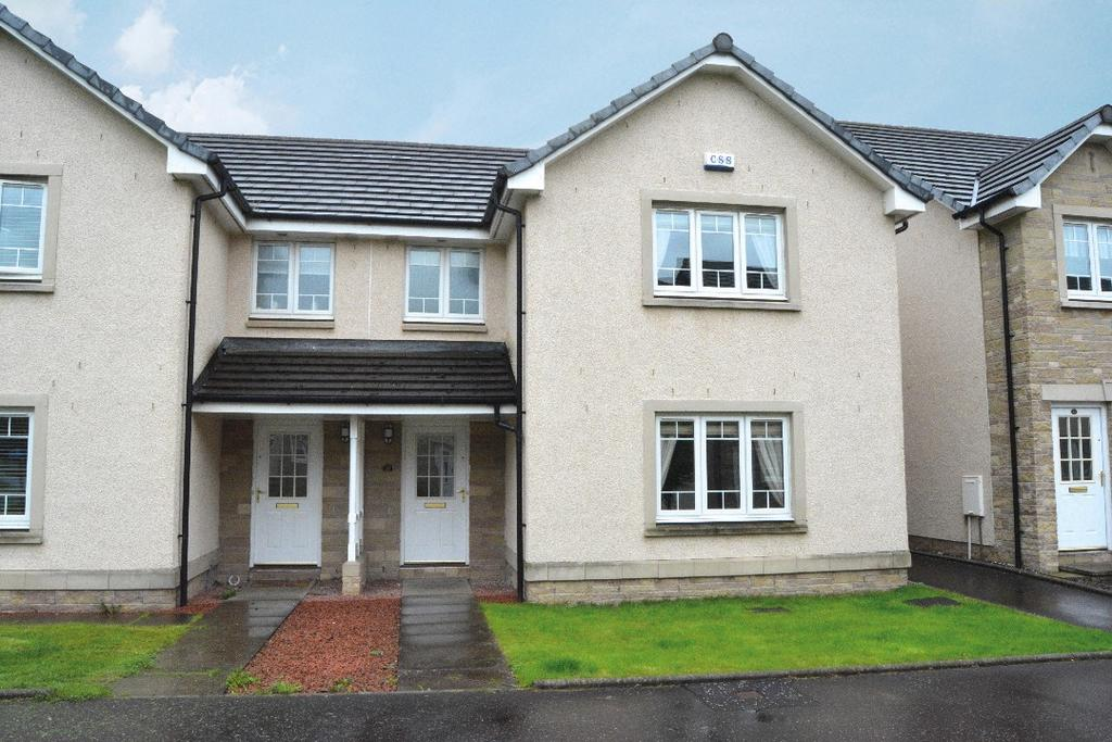 3 Bedrooms Semi Detached House for sale in McCormack Place, Larbert, Falkirk, FK5 4TU