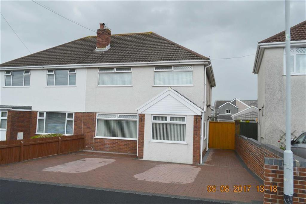 3 Bedrooms Semi Detached House for sale in Heol Penyscallen, Swansea, SA4