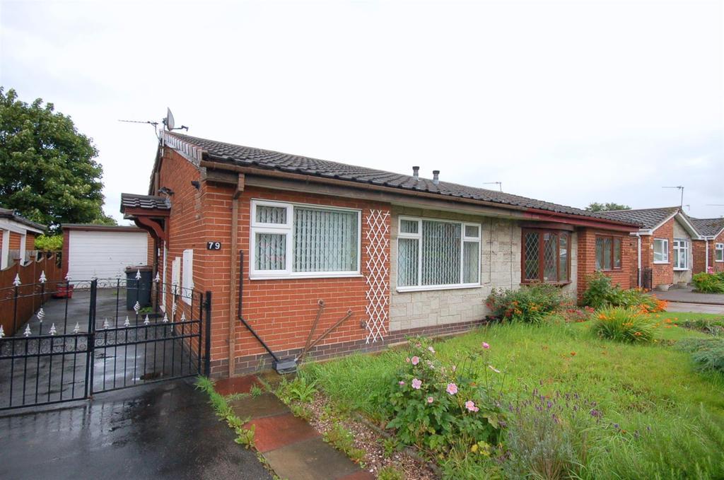 2 Bedrooms Semi Detached Bungalow for sale in Walton Way, Talke