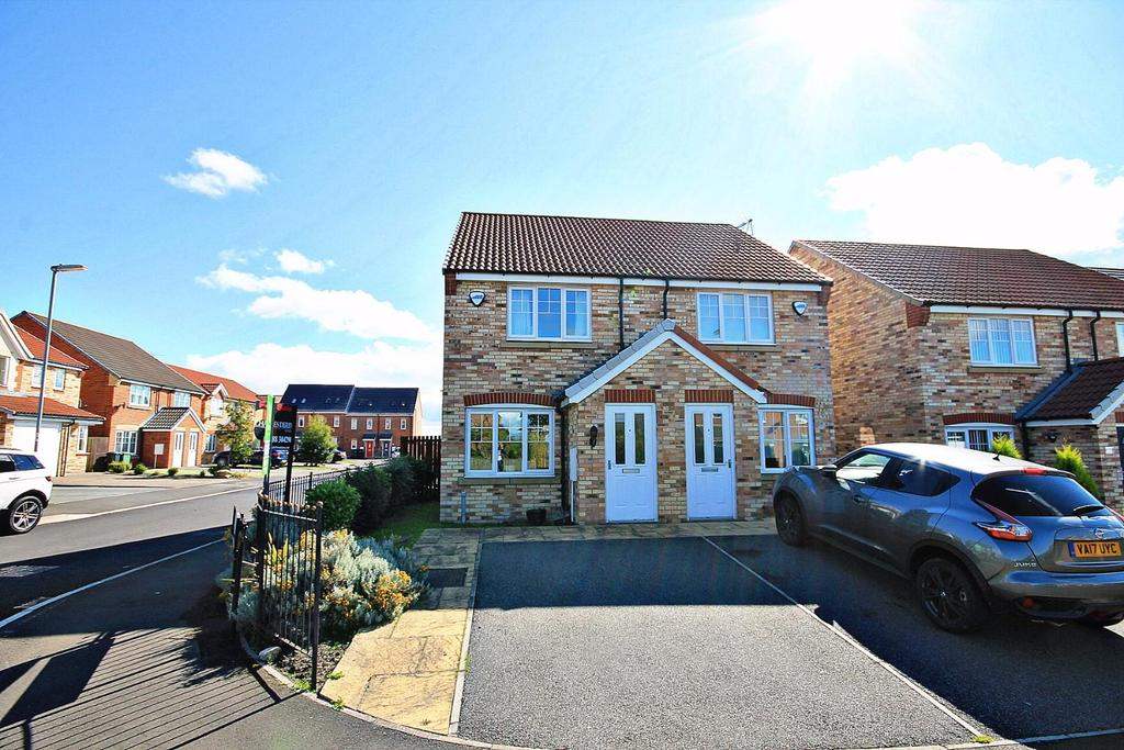 2 Bedrooms Semi Detached House for sale in High Road, Stanley, Crook