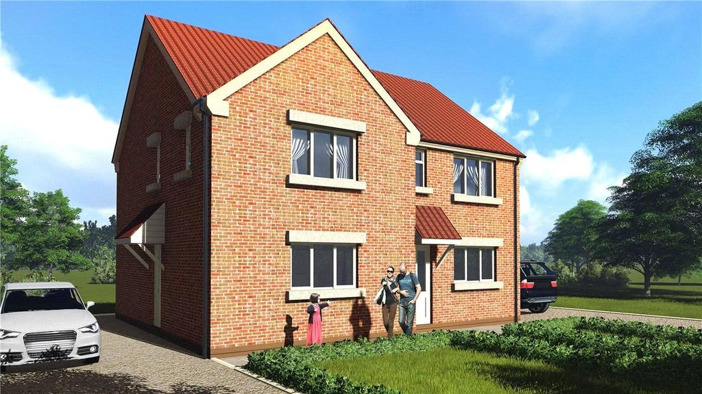 2 Bedrooms Semi Detached House for sale in Poplar Close, Ruskington, Sleaford, Lincolnshire, NG34