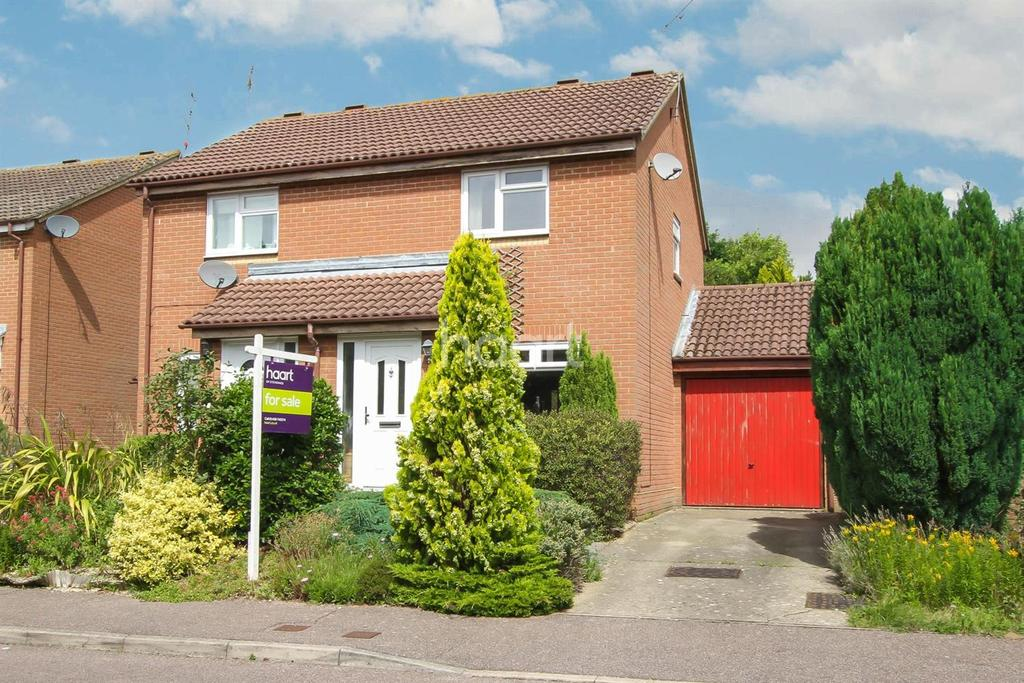 2 Bedrooms Semi Detached House for sale in Wheatlands, Chells Manor, Stevenage