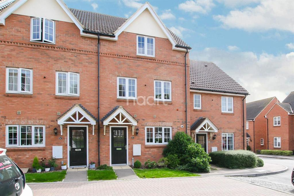 3 Bedrooms Terraced House for sale in Brick Kiln Road, Old Town, Stevenage