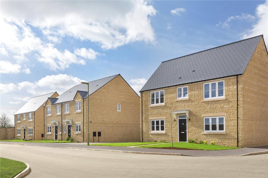 4 Bedrooms Detached House for sale in Lenham, Oakwood Gate, New Road, Bampton, Oxfordshire, OX18