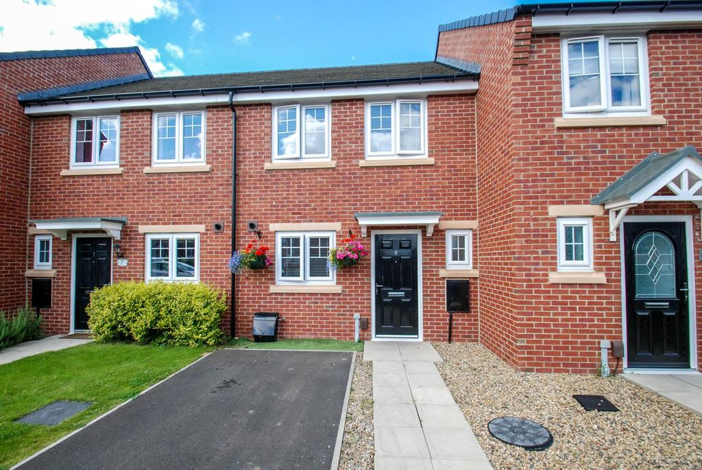 2 Bedrooms Terraced House for sale in Harton Court, South Shields