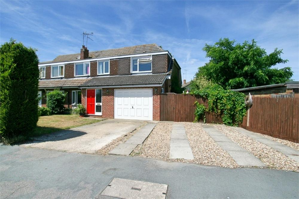 4 Bedrooms Semi Detached House for sale in Saffron Way, Tiptree, COLCHESTER, Essex
