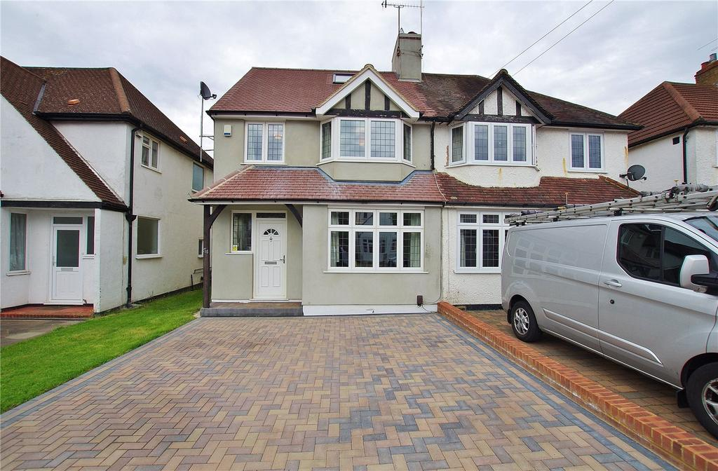4 Bedrooms Semi Detached House for sale in Goodwood Avenue, Watford, Hertfordshire, WD24