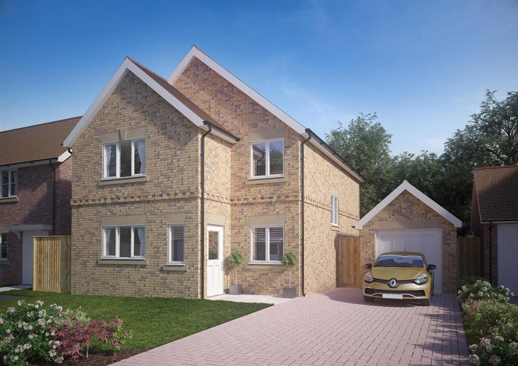 4 Bedrooms Detached House for sale in Hurst Road, Twyford
