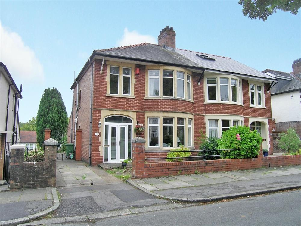 3 Bedrooms Semi Detached House for sale in Windermere Avenue, Roath Park, Cardiff