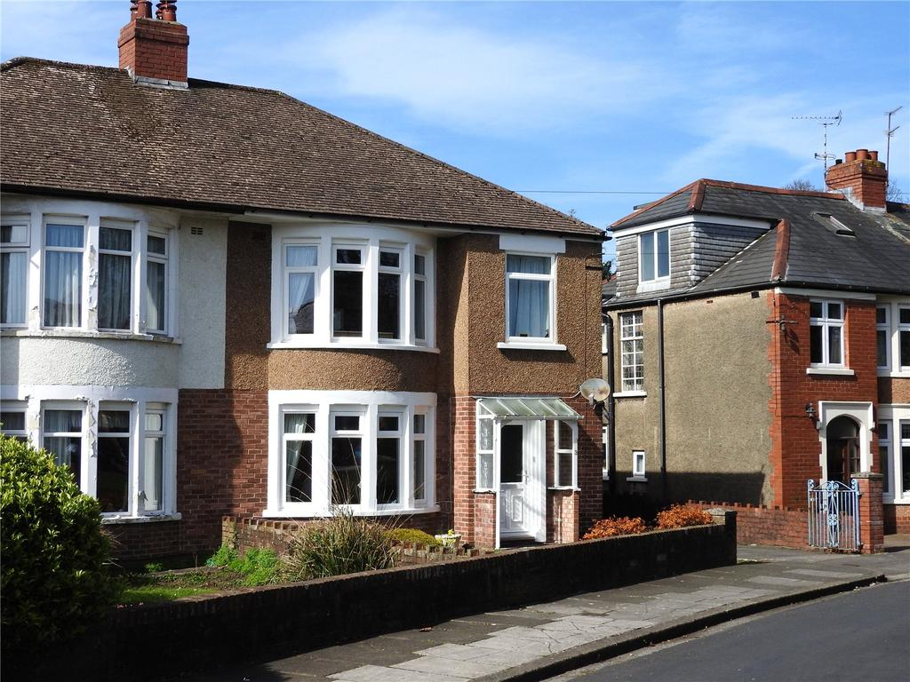 3 Bedrooms Semi Detached House for sale in St Edwen Gardens, Heath, Cardiff, CF14
