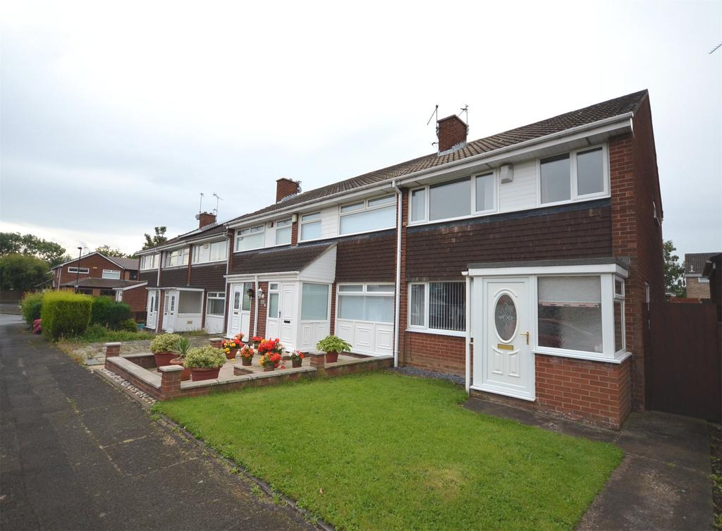 3 Bedrooms End Of Terrace House for sale in Kingston Park