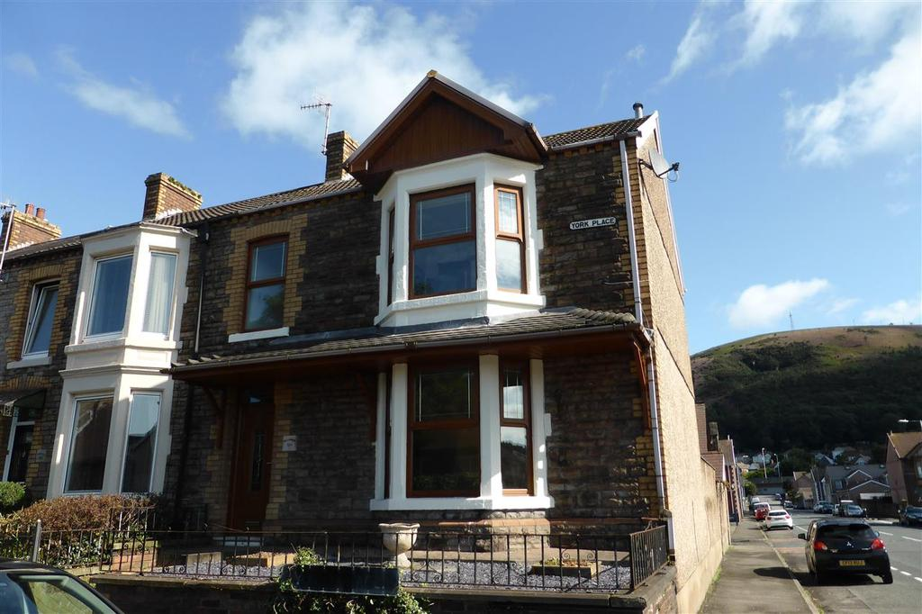 4 Bedrooms End Of Terrace House for sale in 11 York Place, Taibach, Port Talbot