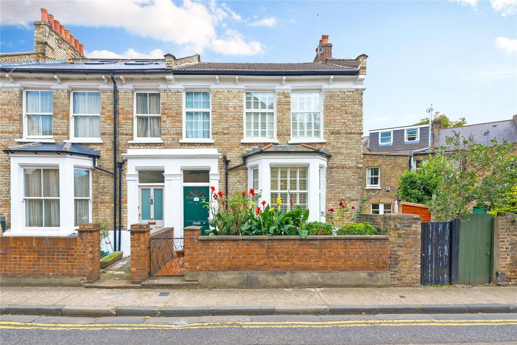 3 Bedrooms End Of Terrace House for sale in Sutton Lane North, Chiswick, London