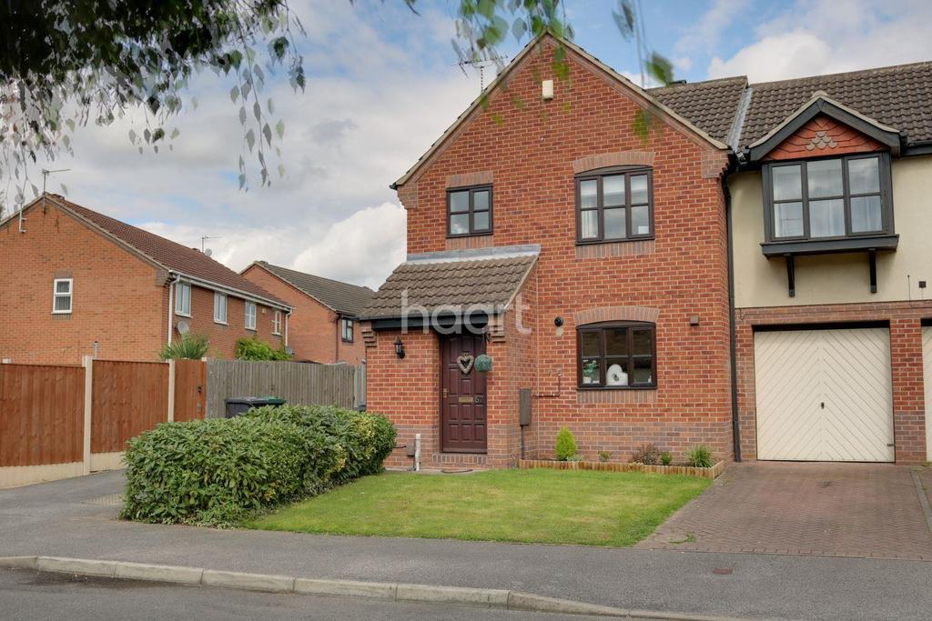 3 Bedrooms Semi Detached House for sale in Hotspur Drive, Colwick