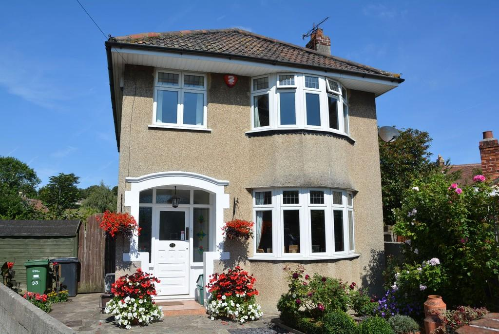 3 Bedrooms Detached House for sale in Oakford Avenue, Weston-super-Mare