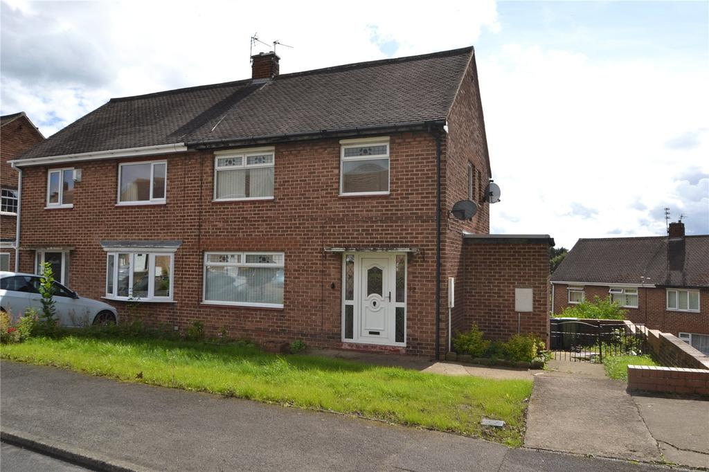 3 Bedrooms Semi Detached House for sale in Thorntree Gill, Peterlee, Co Durham, SR8