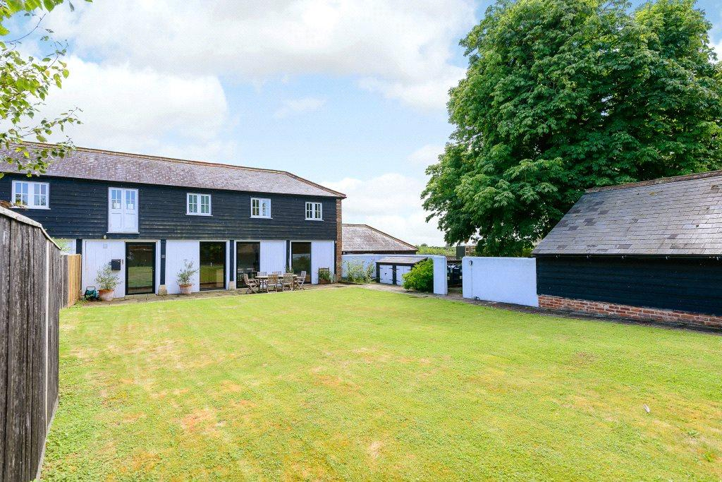 3 Bedrooms Semi Detached House for sale in Jamaica Farm, St. Mary Bourne, Andover, Hampshire, SP11