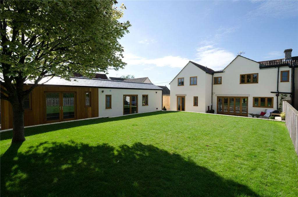 5 Bedrooms End Of Terrace House for sale in Tetbury Lane, Crudwell, Malmesbury, Wiltshire, SN16