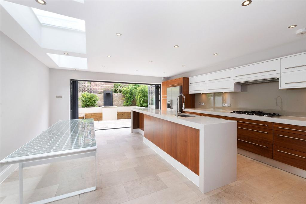 6 Bedrooms Terraced House for sale in Warriner Gardens, London, SW11