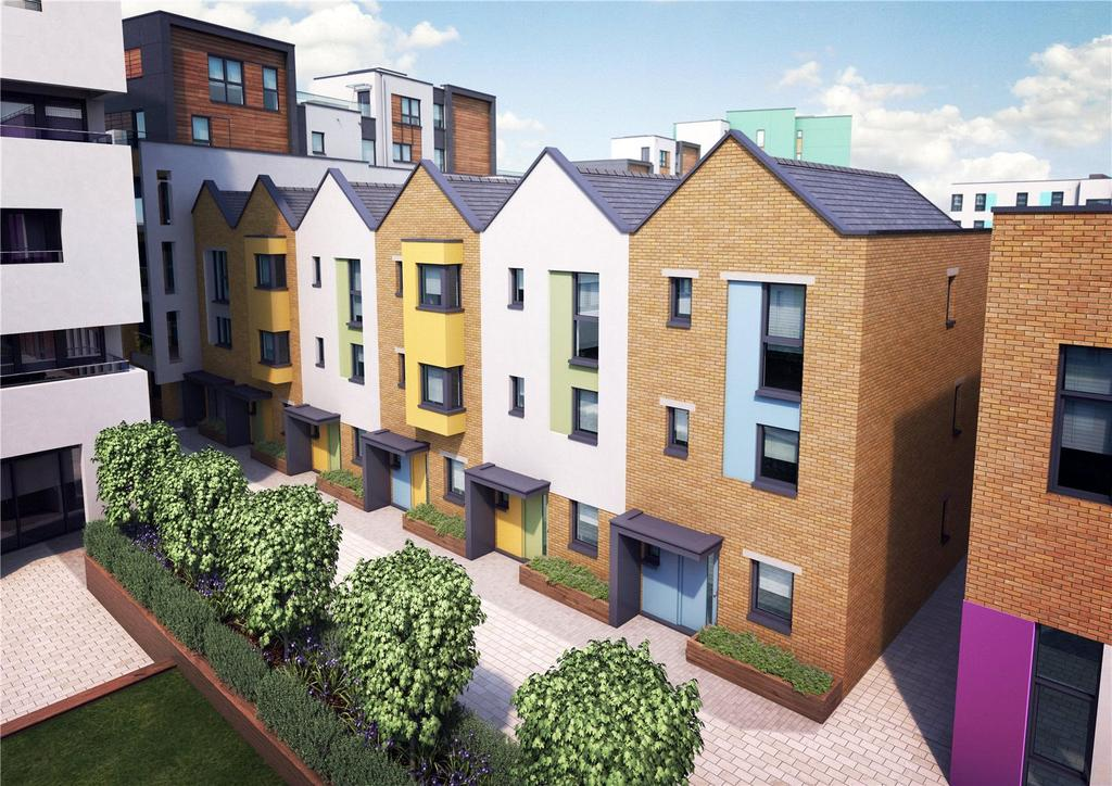 4 Bedrooms Terraced House for sale in Paintworks, Arnos Vale, Bristol, BS4