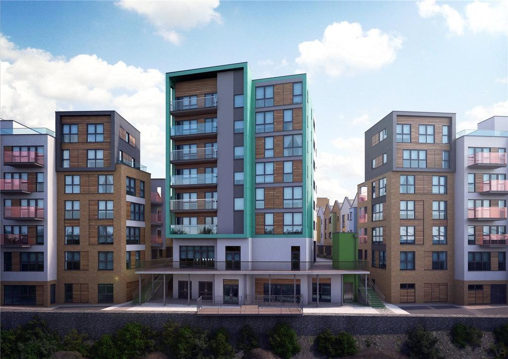 1 Bedroom Flat for sale in Apartment 202, Paintworks, Arnos Vale, Bristol, BS4