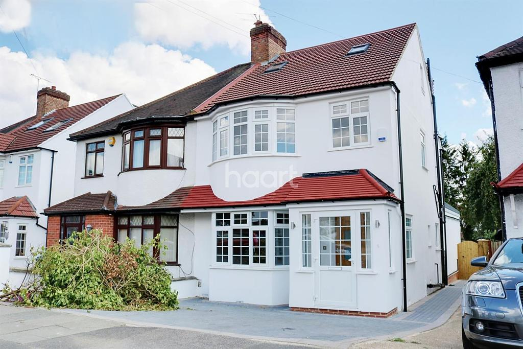 4 Bedrooms Semi Detached House for sale in Oakleigh Avenue, HA8