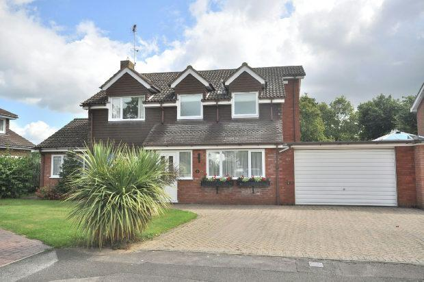 4 Bedrooms Detached House for sale in Perth Close, Woodley, Reading,