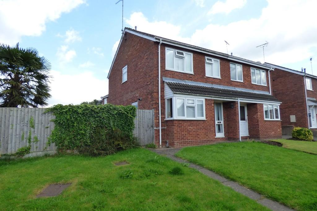 3 Bedrooms Semi Detached House for sale in Ashleigh Drive, Uttoxeter