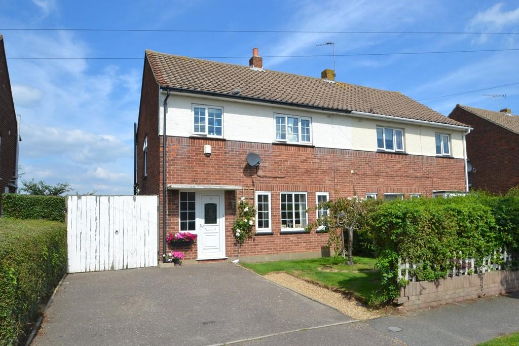 3 Bedrooms Semi Detached House for sale in Great Harlings, Shotley Gate, Ipswich, IP9 1NY