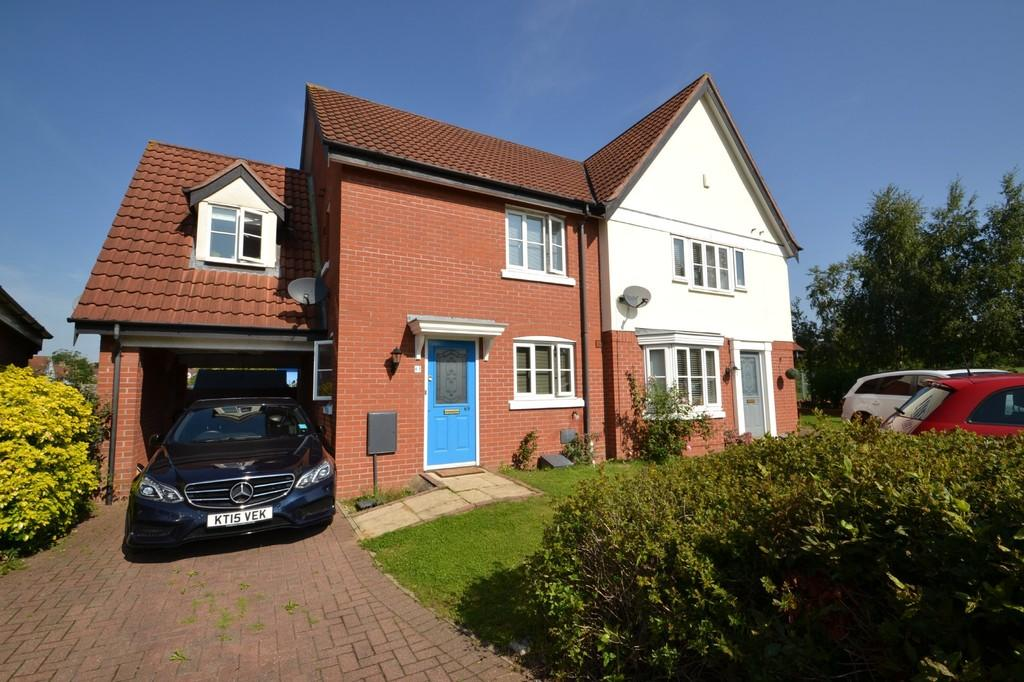 3 Bedrooms Semi Detached House for sale in Vane Close, Dussingdale