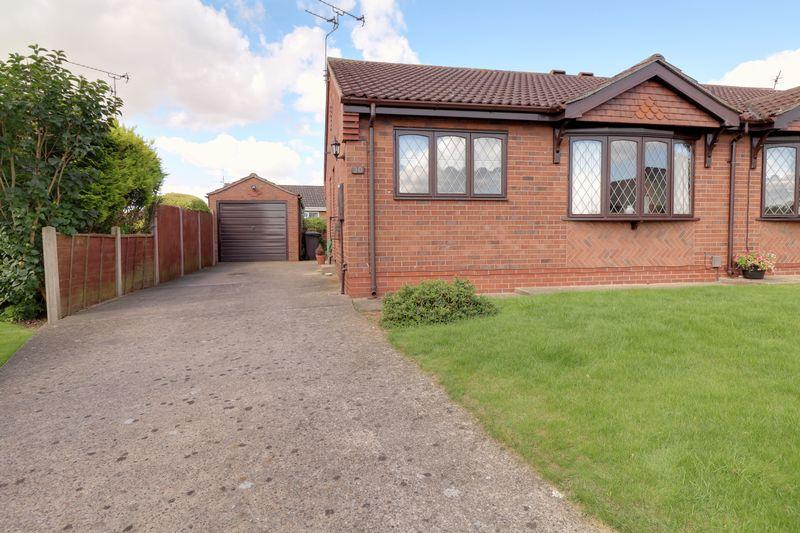 2 Bedrooms Semi Detached Bungalow for sale in Conference Court, Bottesford