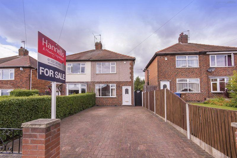 2 Bedrooms Semi Detached House for sale in CHADDESDEN PARK ROAD, CHADDESDEN