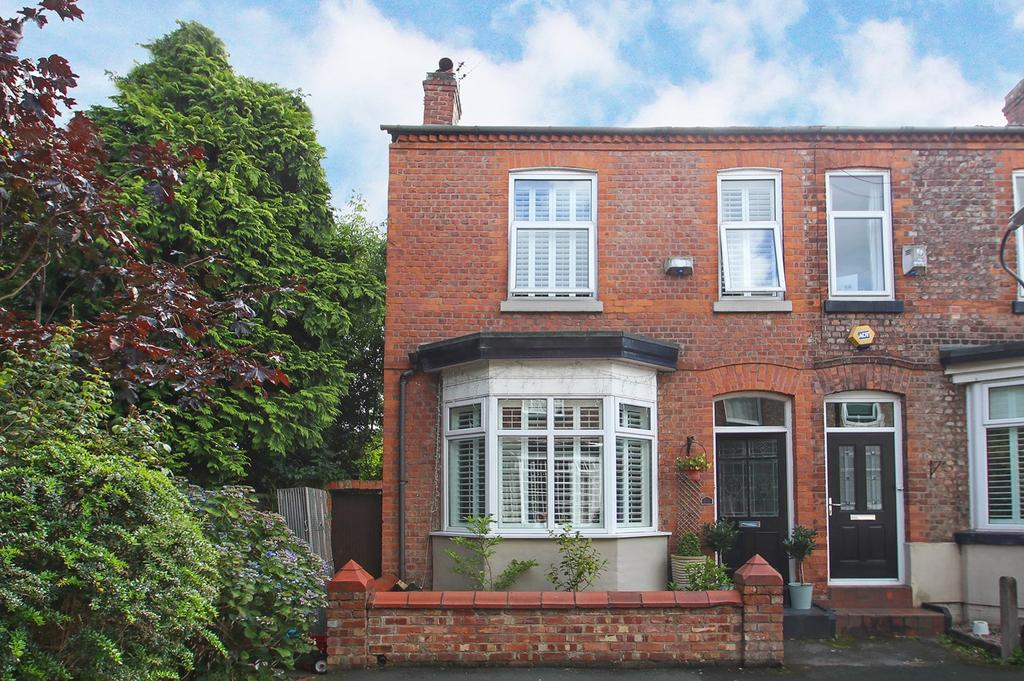 3 Bedrooms End Of Terrace House for sale in Barton Avenue, Urmston, Manchester, M41