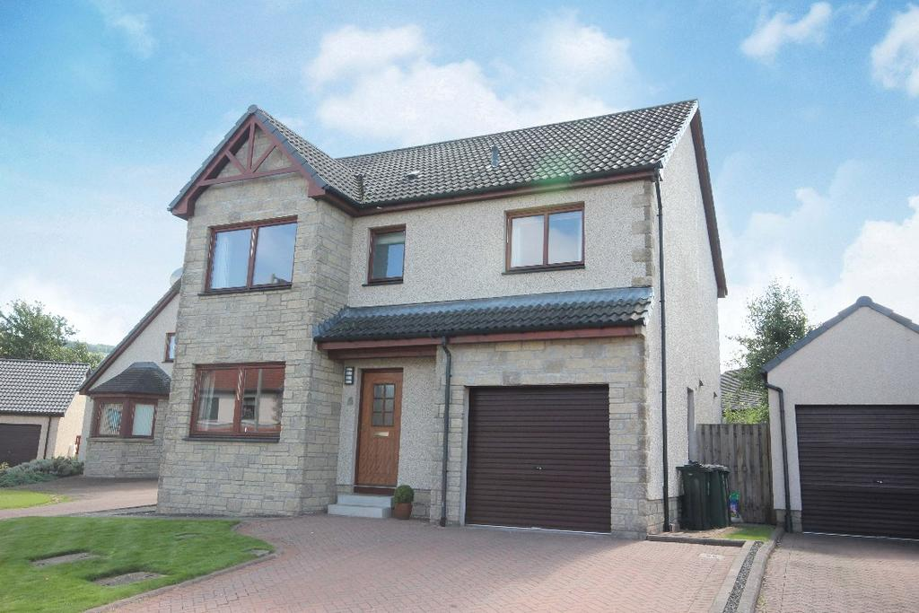 4 Bedrooms Detached House for sale in Bells Croft, Abernethy, Perthshire , PH2 9GD