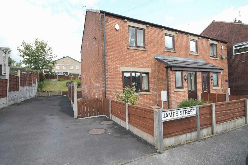 3 Bedrooms Semi Detached House for sale in James Street, Littleborough