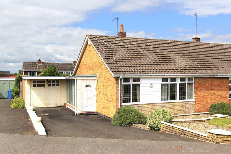 2 Bedrooms Semi Detached Bungalow for sale in WOMBOURNE, Blakeley Heath Drive