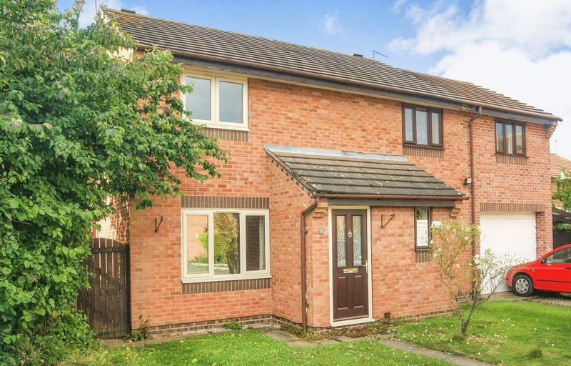 2 Bedrooms Semi Detached House for sale in Gresham Close, Newark