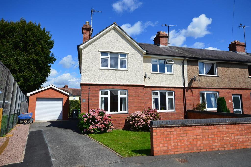 3 Bedrooms End Of Terrace House for sale in Walnut Tree Avenue, Hereford