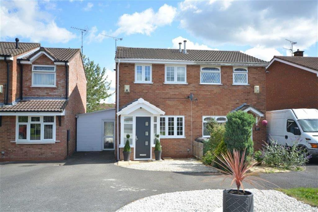 2 Bedrooms Semi Detached House for sale in Chesterton Drive, Galley Common, Nuneaton