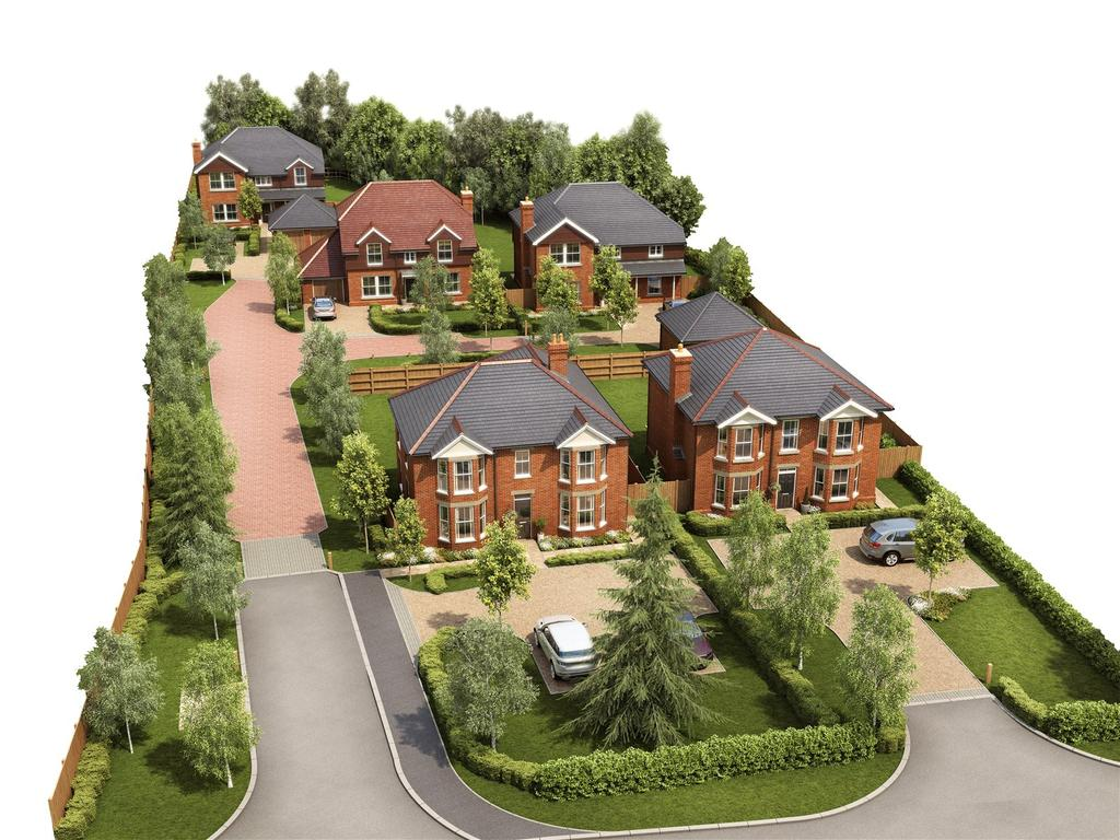 4 Bedrooms Detached House for sale in Banksia, Romsey Road, Awbridge, Hampshire, SO51