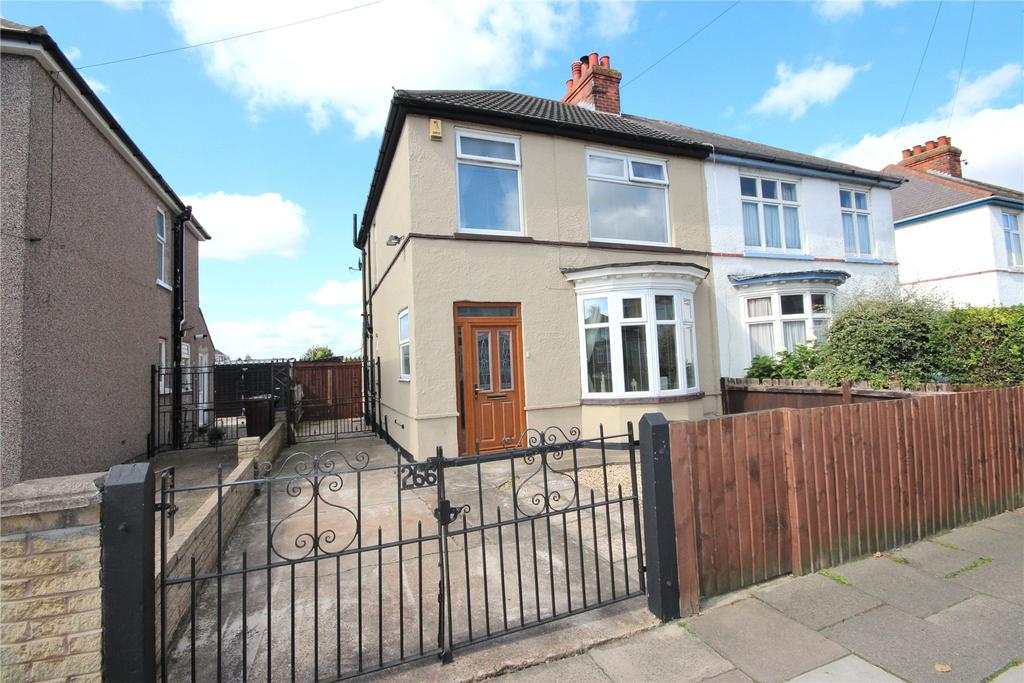 3 Bedrooms Semi Detached House for sale in Brereton Avenue, Cleethorpes, DN35