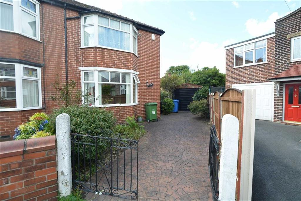 2 Bedrooms Semi Detached House for sale in Balmoral Avenue, STRETFORD