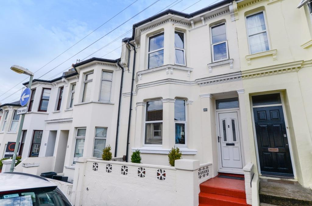 3 Bedrooms Terraced House for sale in Bentham Road Brighton East Sussex BN2