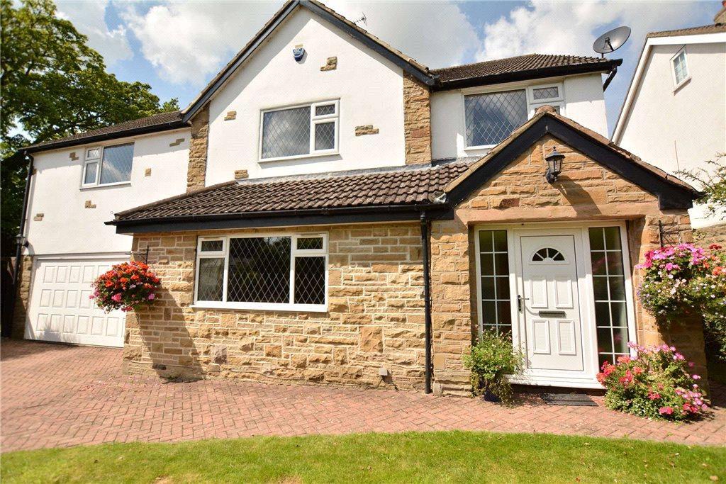 5 Bedrooms Detached House for sale in Heather Gardens, Scarcroft, Leeds