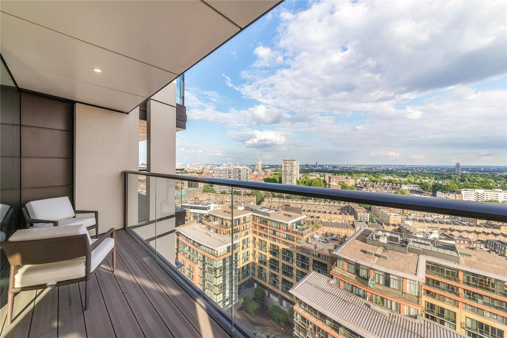 4 Bedrooms Penthouse Flat for sale in Merchant Square, Paddington, London