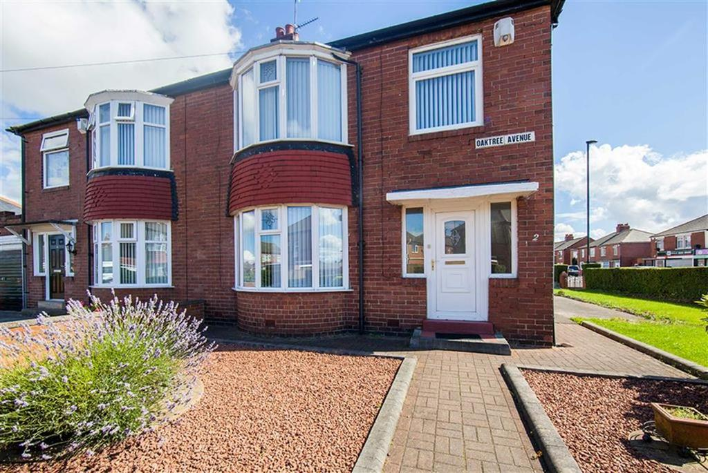 3 Bedrooms Semi Detached House for sale in Oaktree Avenue, Walkerville, Newcastle Upon Tyne, NE6