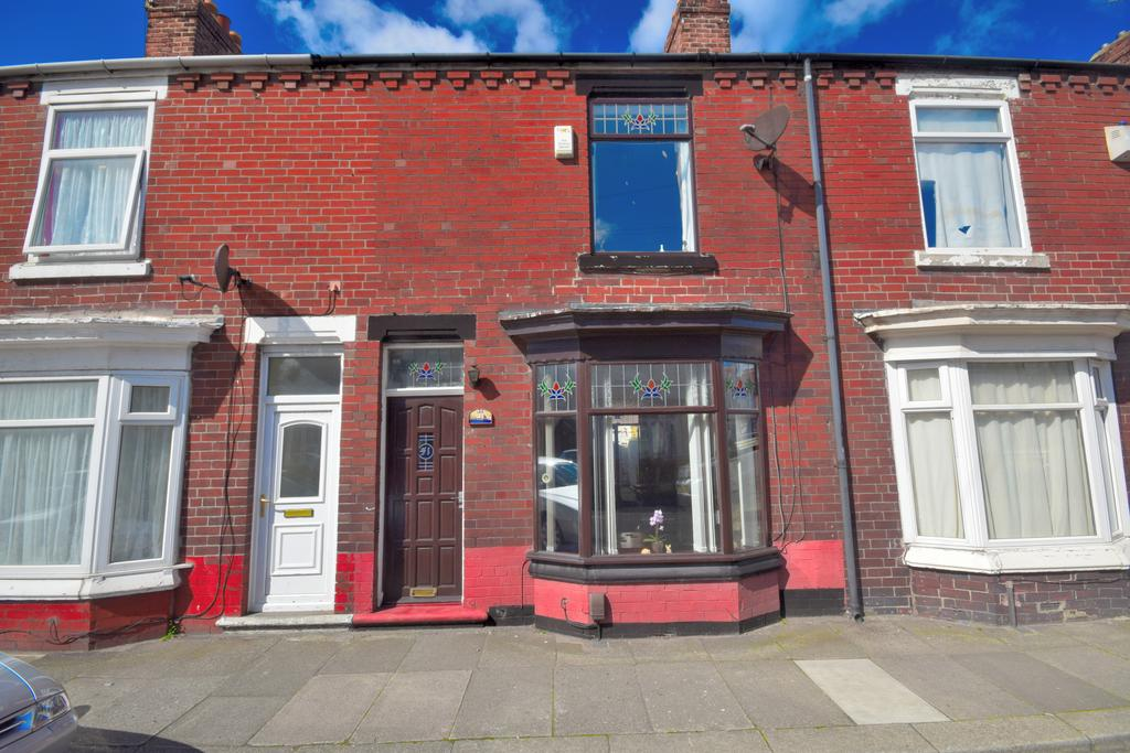 2 Bedrooms Terraced House for sale in Scott Street, Redcar TS10