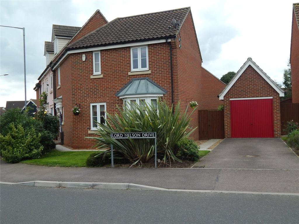 3 Bedrooms Semi Detached House for sale in Lord Nelson Drive, Norwich