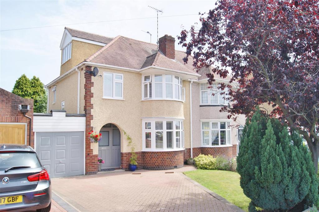 4 Bedrooms Semi Detached House for sale in Bagington Road, Styvechale, Coventry